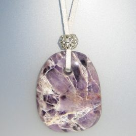 Amethyst Pendant with South Africa