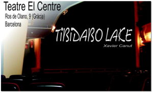 Tibidabo lake