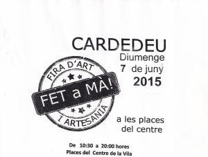 Feria de Arte y Artesanía. Hecho a mano!