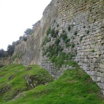 Fortalesa de Kuèlap, muralla