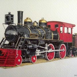 Locomotive - Manuel Gómez Perochena