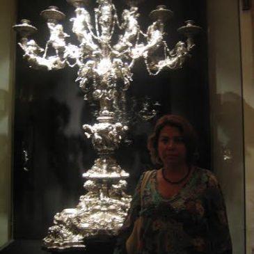 Canelobres de Joan Marons segons projecte de l'escultor Joan Roig