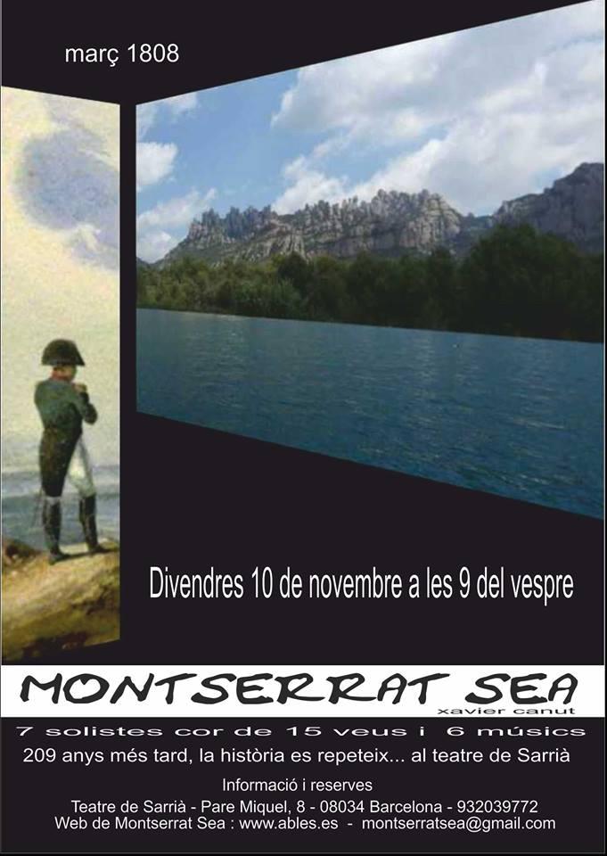 Montserrat Sea Barcelona - Angels Canut