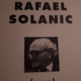 Rafael Solanic. Centenari Angels Canut Barcelona