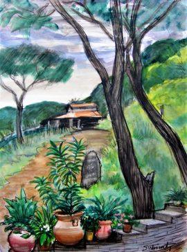 Antoni Subirats - The garden - San Miguel de Allende Mexic - Angels Canut